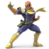 Captain Falcon - Super Smash Bros Ultimate