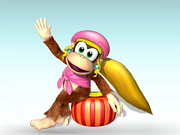 Dixie Kong Charged