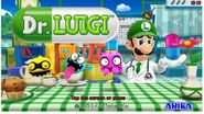 Drluigi title screen