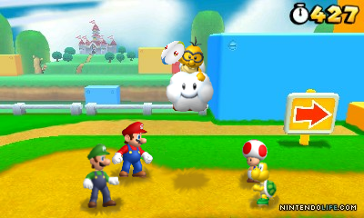 Mario Rugby Screenshot