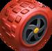 Red Monster Wheels
