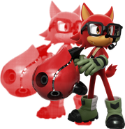 SonicForces Avatar Render