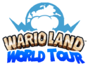 WarioLand World Tour logo design
