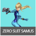 Zero Suit Samus SSBAether