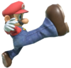 7.Mario kicking