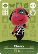 Ac amiibo card cherry
