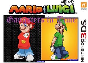 Mario & Luigi Gangsters in Time