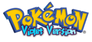 Pokémon Violet Logo English