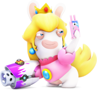 Rabbid Peach - RabbidsKingdomBattle
