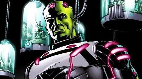 Supervillain Origins Brainiac-0