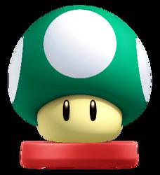 Amiibo 1-Up Mushroom
