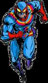 Captain Rainbow Artwork