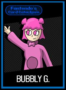 FCC Bubbly G Card