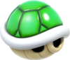 Green Shell Artwork - Super Mario 3D World