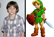 Link Kid in the movie