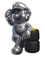 Metal Mario - Mario Kart 8 Wii U