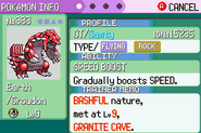Randomizer Groudon Granite Cave