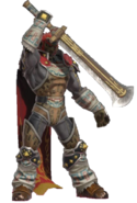 1.5.Ganondorf Holding his sword