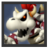 JSSB Character icon - Dry Bowser