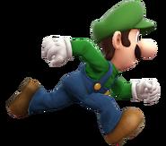Luigi running (SSBWIU)