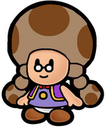 Paper Toad Marie