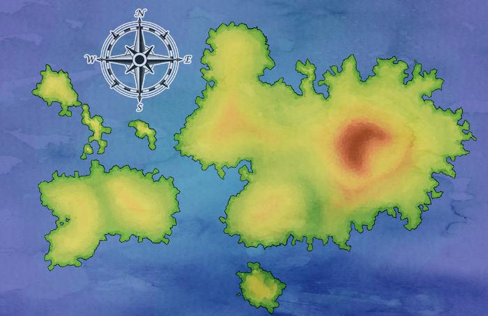 Symphony Isles Map
