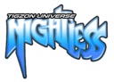 Tigzon Universe Nightless logo design
