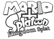 0.Mario and Splatoon Kingdom Splat Logo