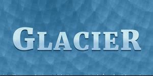 Glacier logo EV