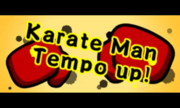 Karate Man Tempo Up 3DS title