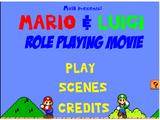 Mario & Luigi Roleplaying Movie