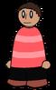 Shirt Pink Striped Generic