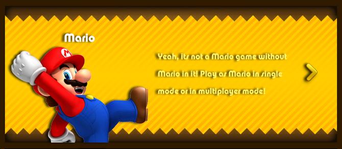 Super Mario & the Ludu Tree - Character Mario