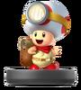 Captain Toad Amiibo SSBA
