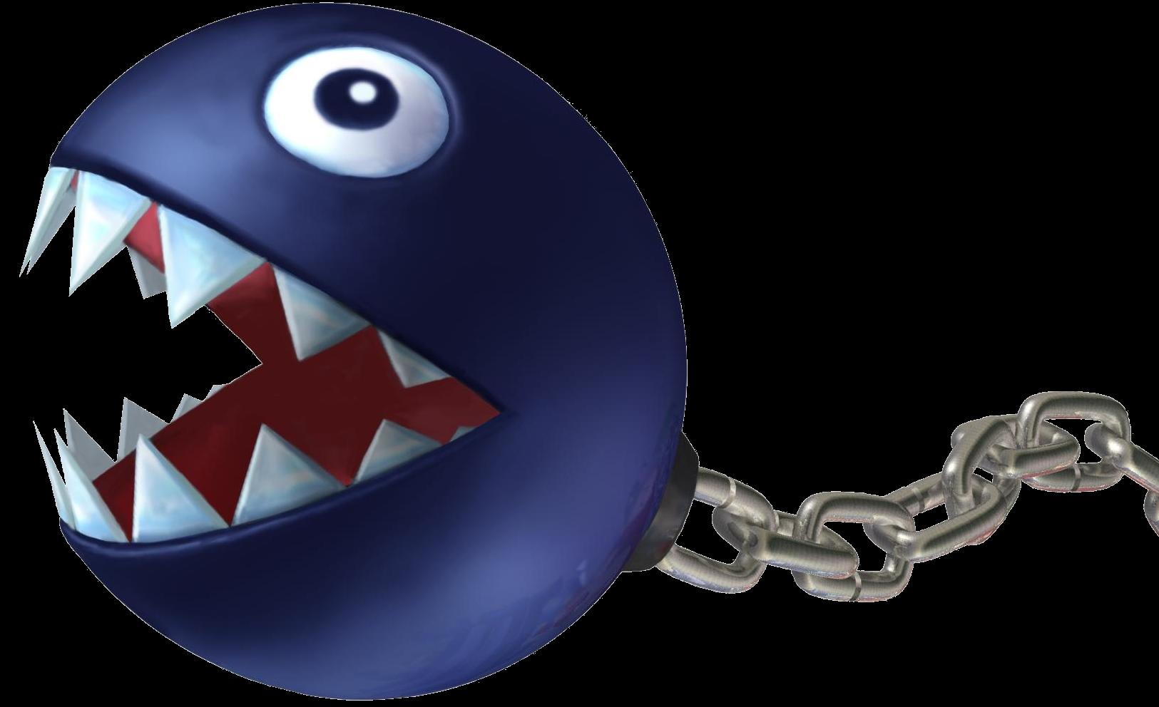 Mario Chain Chomp Lamp   ThinkGeek