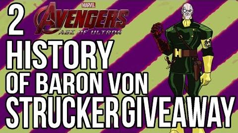 History of Baron Von Strucker GIVEAWAY Countdown to Avengers Age of Ultron Part 2