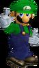 Luigi SSBM Render