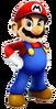 Mario RPG 3D Render