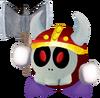 3D Computerboy Axe Knight