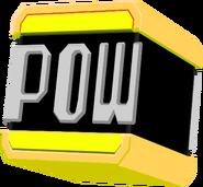 Gold POW Block Hat Model