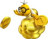 Golden Lakitu NSMB2