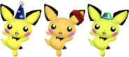 Pichu Alternates by wilt b