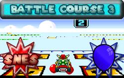 Snes Battle Course 3 MKSR