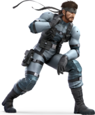 Solid Snake (Super Smash Bros Ultimate)