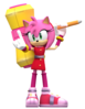 Sonic boom amy render by nibrocrock-d768wt5