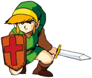 TLoZ Link Kneeling Artwork