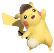 0.3.Detective Pikachu holding a Magnifying Glass