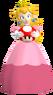 Peach holding a Mushrooom