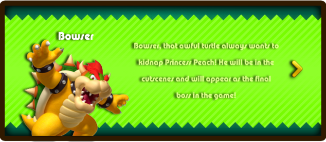 Super Mario & the Ludu Tree - Character Bowser