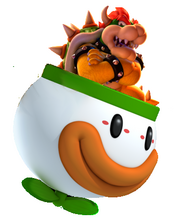 Bowser koopa clown car